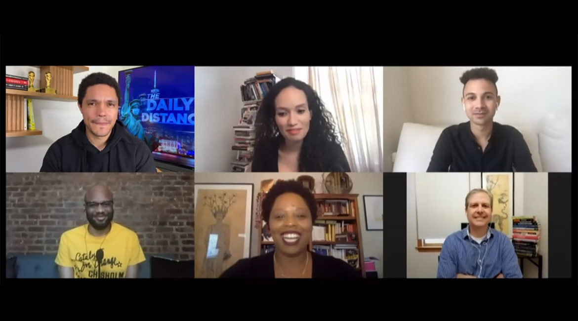 Trevor talks to Patrisse Cullors, Josie Duffy Rice, Sam Sinyangwe, Mychal Denzel Smith and Alex S. Vitale about the recent progress of the Black Lives Matter movement, the call to defund the police, and alternative community-based programs to prevent crime and resolve conflict.