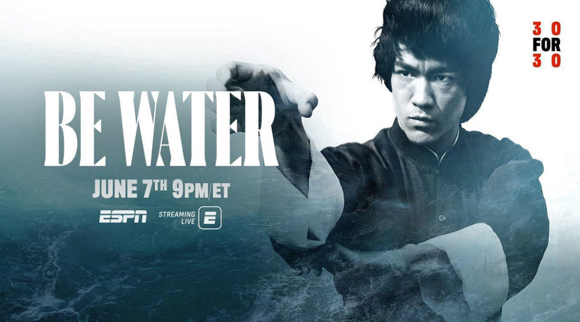 espn bruce lee 30 for 30 graphic for be water