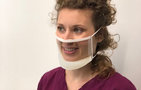 Clear Surgical mask for Hearing Impaired